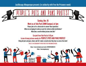 Pots and Pans Protest
