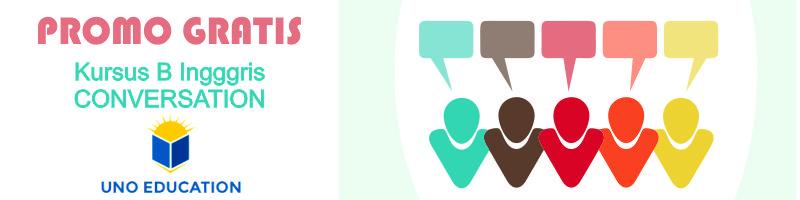 Kursus Bahasa Inggris Conversation Gratis dan Bersertifikat