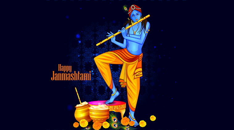 Krishna Janmashtami Quotes, Wishes,  SMS, WhatsApp and Facebook Messages