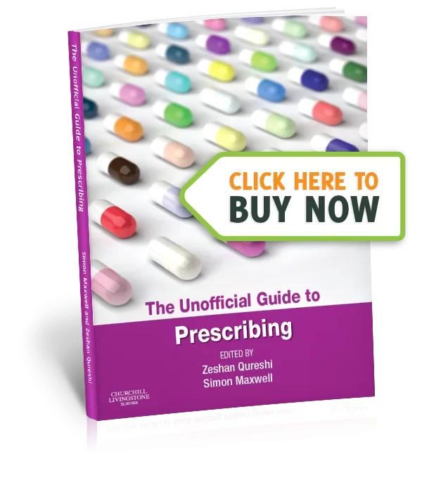 the unofficial Guide to Prescribing - Buy Now image two