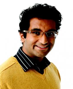 Zeshan Qureshi portrait facing right