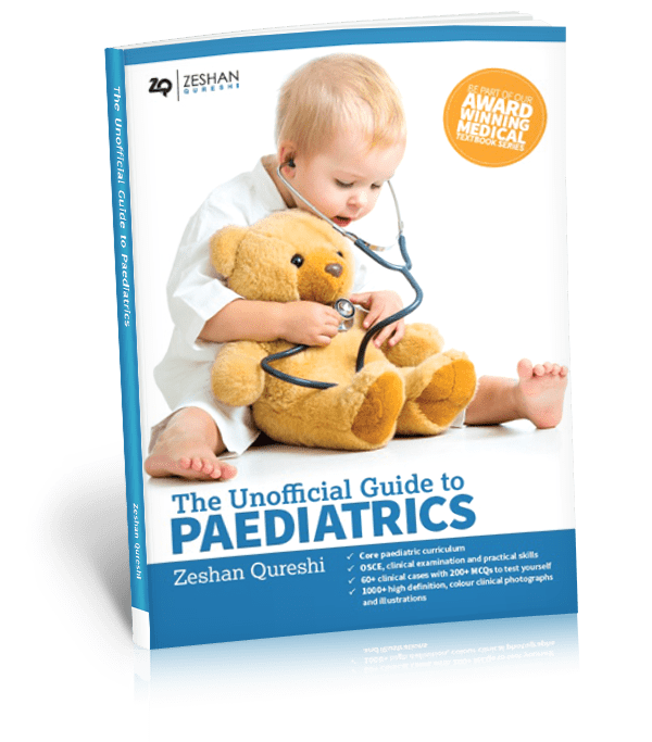 Unofficial Guide to Paediatrics book