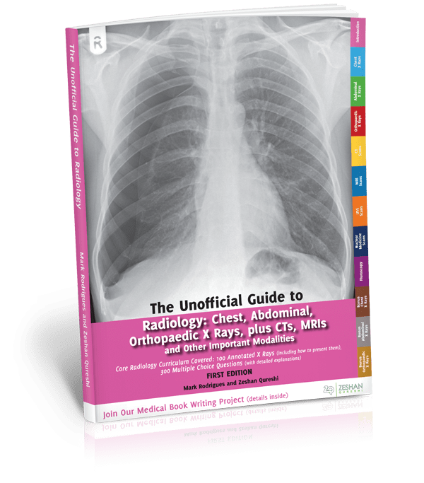 Unoffical Guide To Radiology book