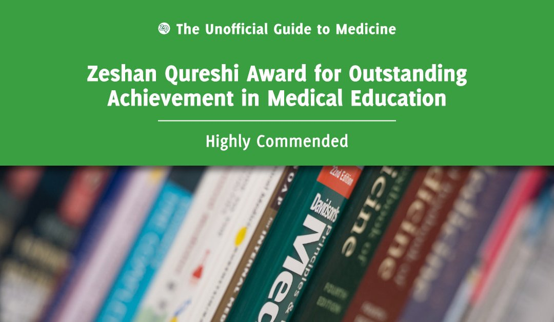 Zeshan Qureshi Award for Outstanding Achievement in Medical Education Highly Commended: Sophie Lewis
