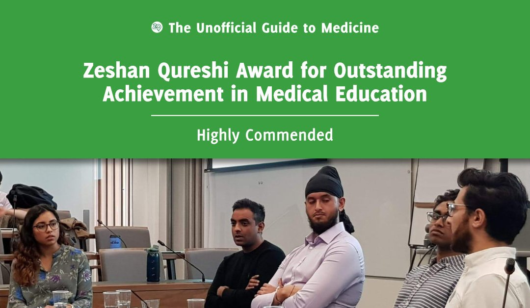 Zeshan Qureshi Award for Outstanding Achievement in Medical Education – Highly Commended: Karen Borges
