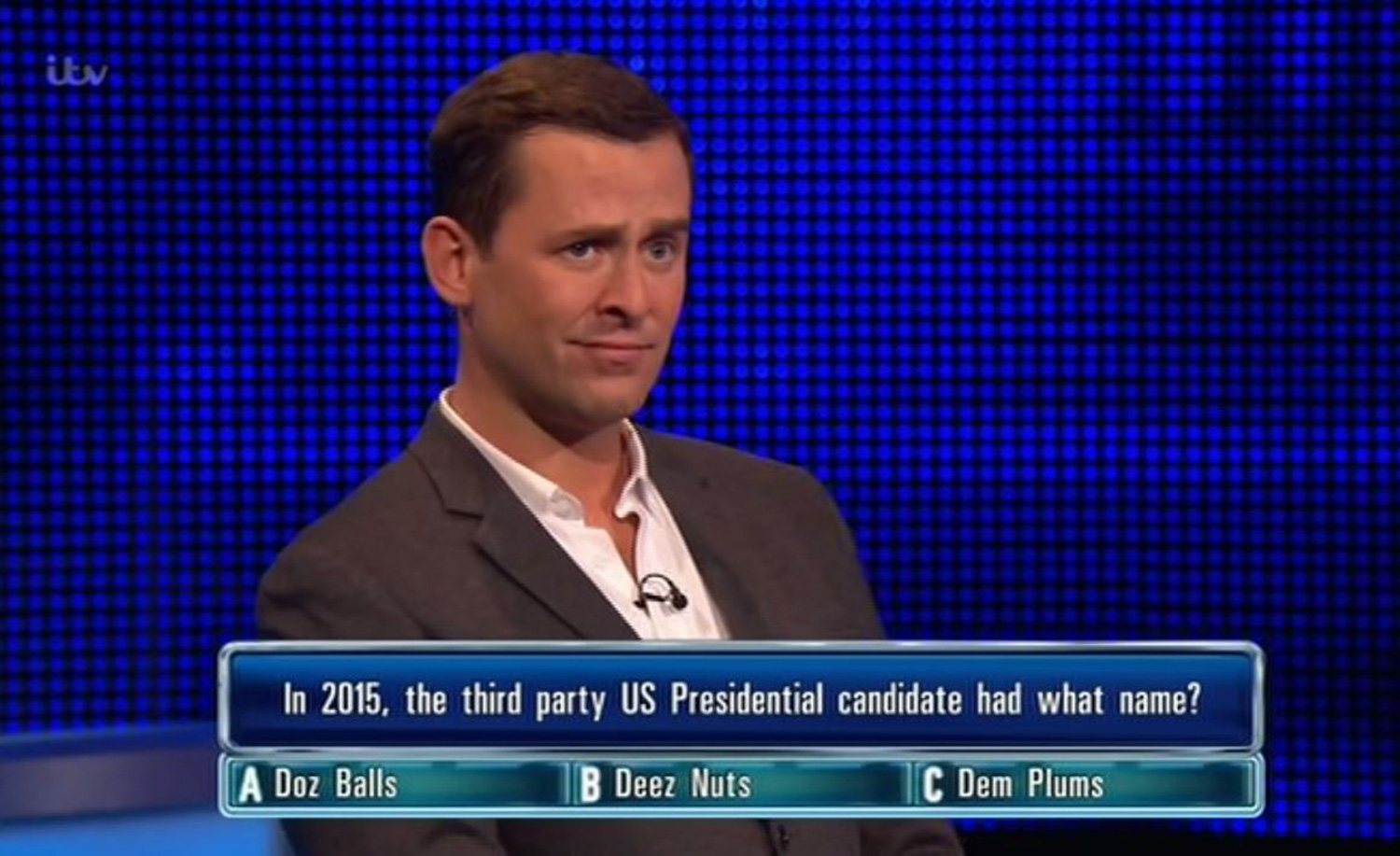 Mills' appearance on The Chase goes viral