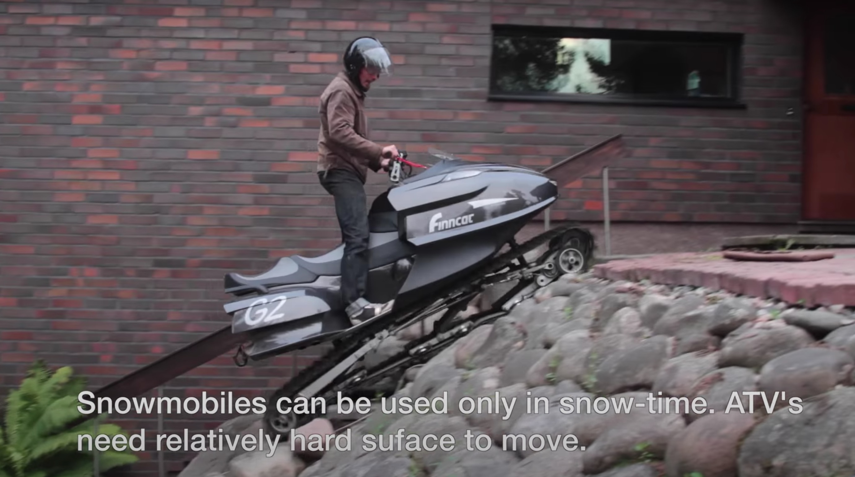 Check Out These Strange Snowmobiles From Finland