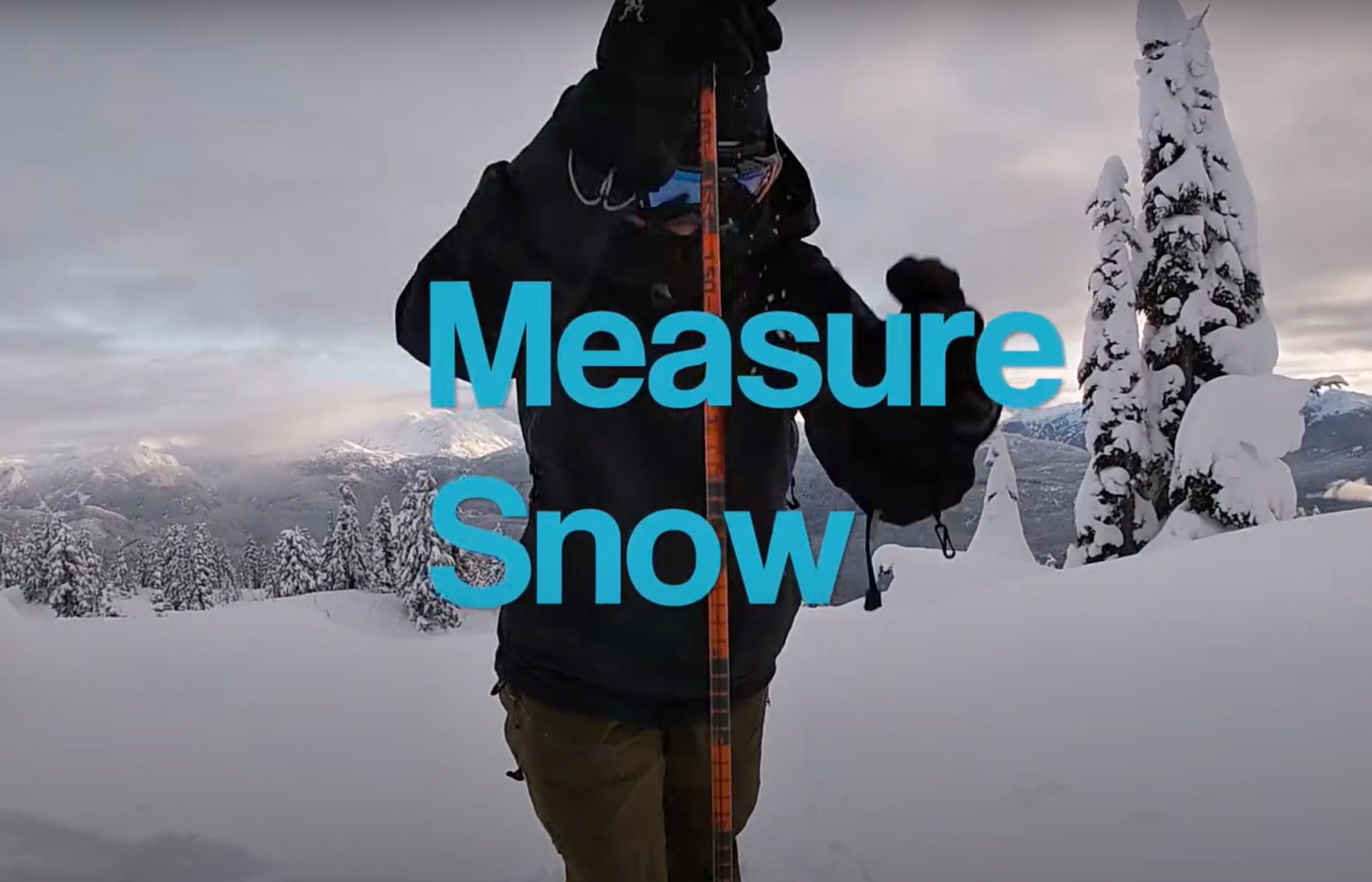 Scientists Asking Backcountry Skiers For Help Taking Snow Measurements