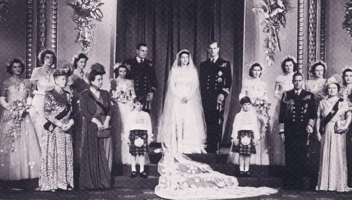 Wedding Of Queen Elizabeth Ii Of The United Kingdom And Lt