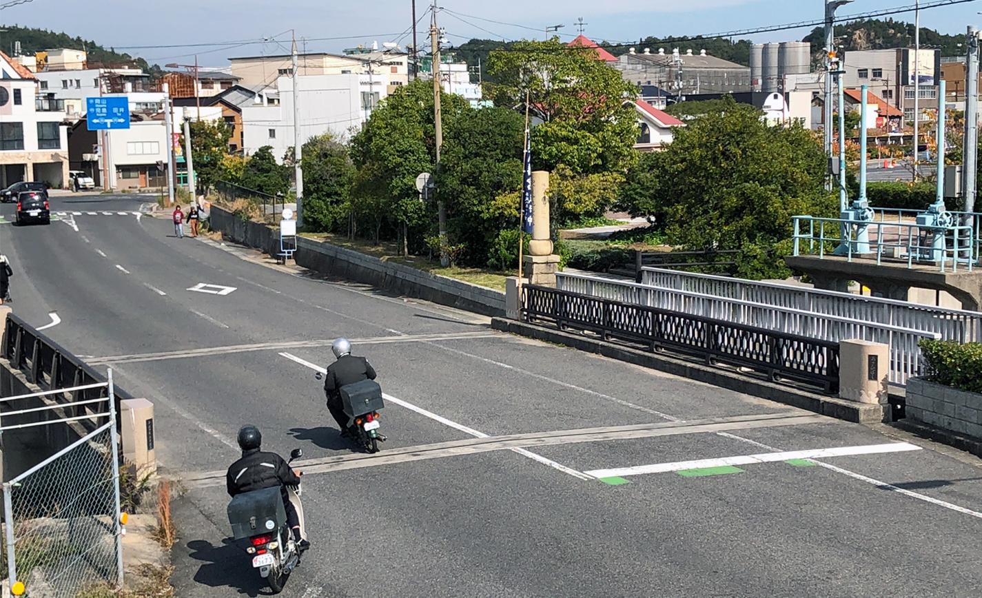 平成の旭橋の写真