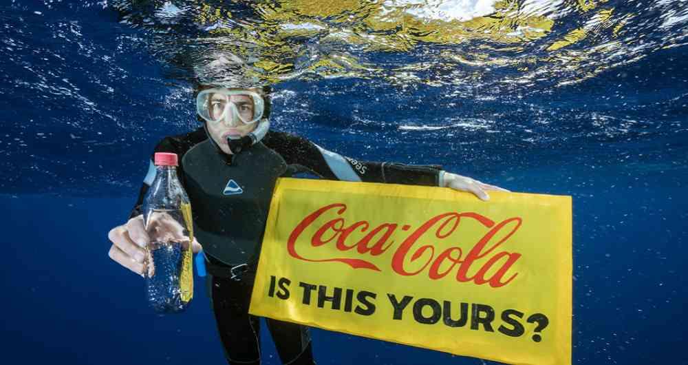 Cola-Cola, Pepsi y Nestlé, las multinacionales que más contaminan los océanos con plástico