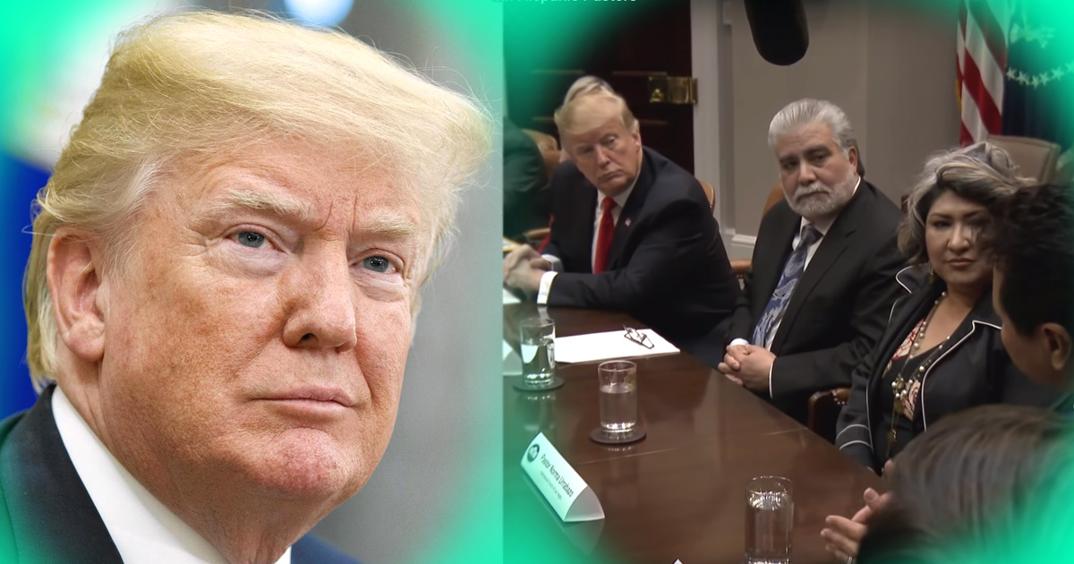 """Trump celebra reunión histórica con pastores hispanos: """"Estamos aquí para ayudarlo"""""""