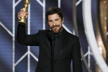 Christian Bale agradece a Satanás por su papel que lo hizo ganar en los Globos de Oro