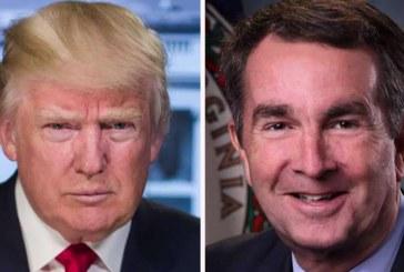 El presidente Trump arremete contra el gobernador de Virginia: Los demócratas «arrancan a los bebés del útero»
