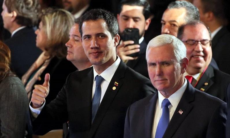 """""""Y ustedes verán la liberación que el Señor traerá"""", dice Mike Pence a Venezuela"""