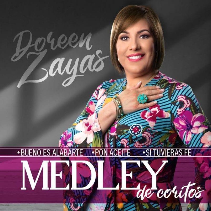 "Doreen Zayas convierte sus ""tres coritos"" de  adoración en un medley"