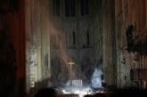 ¿Milagro? La cruz de Notre Dame queda intacta tras incendio