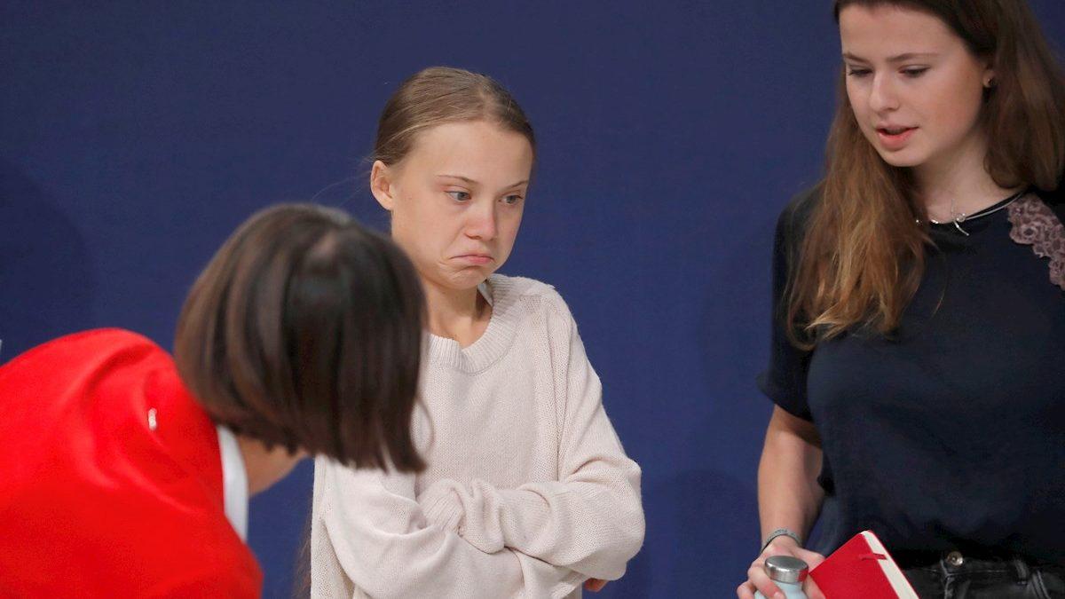 """Cruda realidad / La omnipresente Greta denuncia que quieren """"silenciarla desesperadamente"""""""