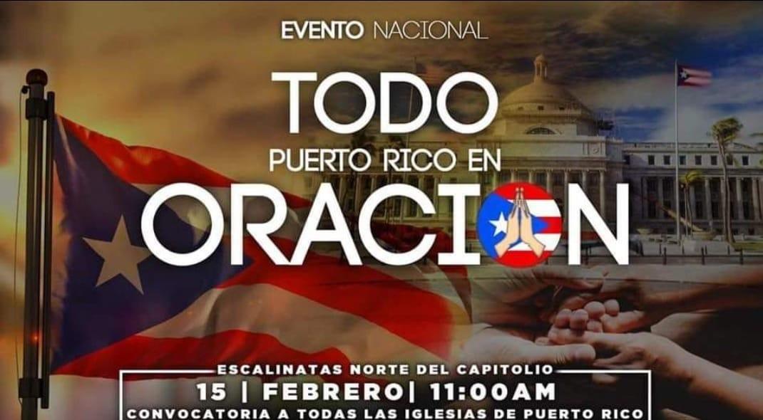 Todo Puerto Rico en oración