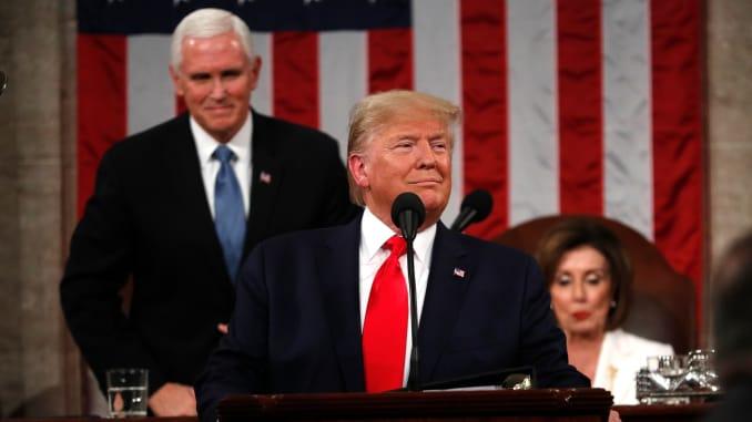 Trump afirma que la fe y la familia son el centro de la vida en Estados Unidos