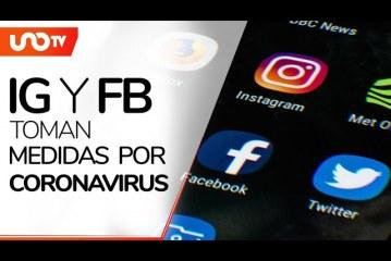 Instagram y Facebook anuncian medidas ante pandemia de coronavirus
