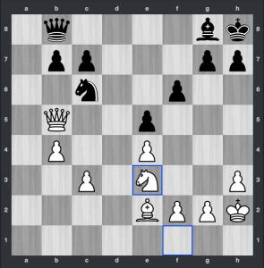 Carlsen-Aronian dopo 31.Ce3