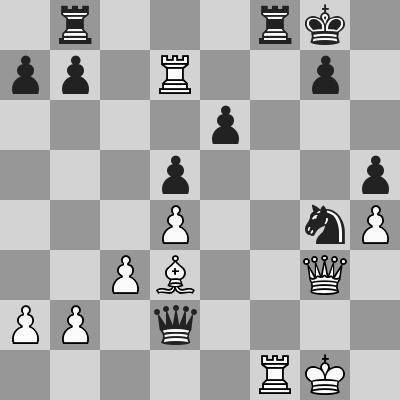 Ivanchuk-Almasi dopo 26. ... Dxd2
