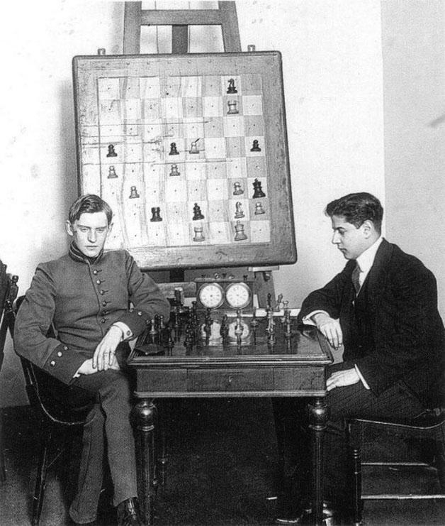 Capablanca-Alekhine 1913