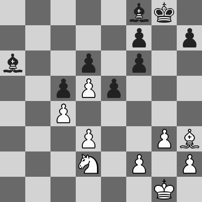 Carlsen-Pantsulaia dopo 27. ... gxf6