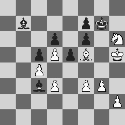 Carlsen-Pantsulaia dopo 37. ... Ac3