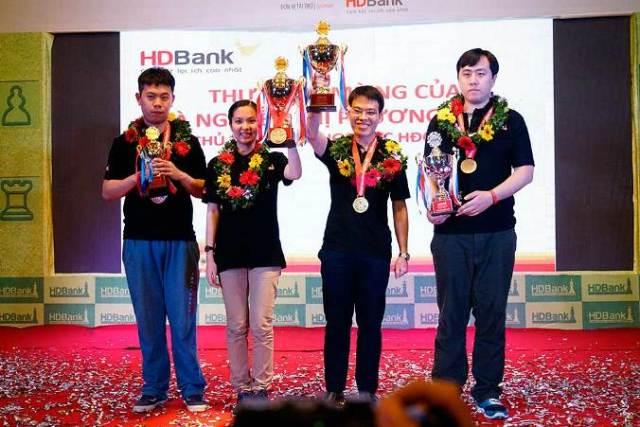 2017 HDBank Masters - Podium