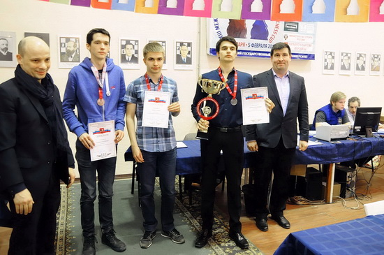 2017 Moscow Championship - Podium