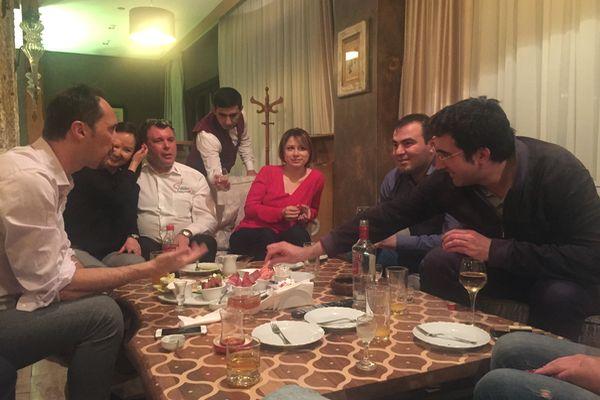 Shamkir 2017 - Kramnik e Topalov in relax