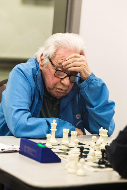 MetroWest Chess Club July 2014. Arthur Bisguier