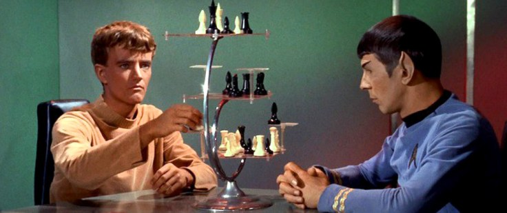 Star Trek 3D chess game