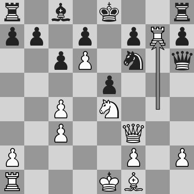 Carlsen-MVL dopo 19. Txg7