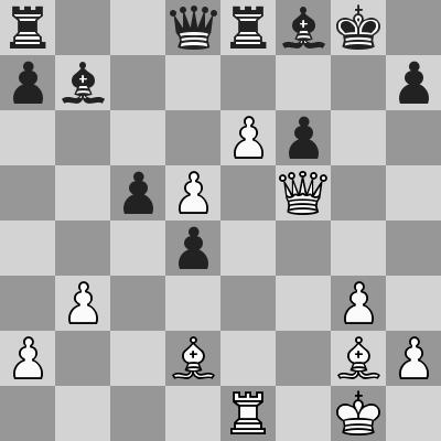 Aronian-Navara dopo 23. ... Dd8
