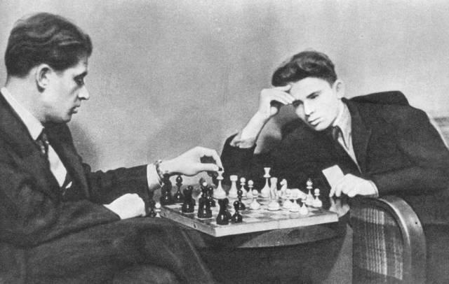 Averbakh e Spassky qualche anno fa