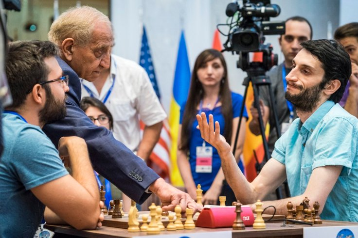 FIDE World CUP 2017 - R1 Jobava wins (Lennart Ootes)