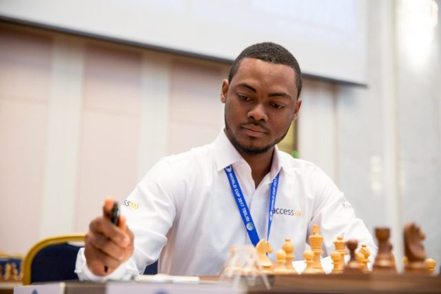 FIDE World CUP 2017 - R1 Oluwafemi (Emelianova)