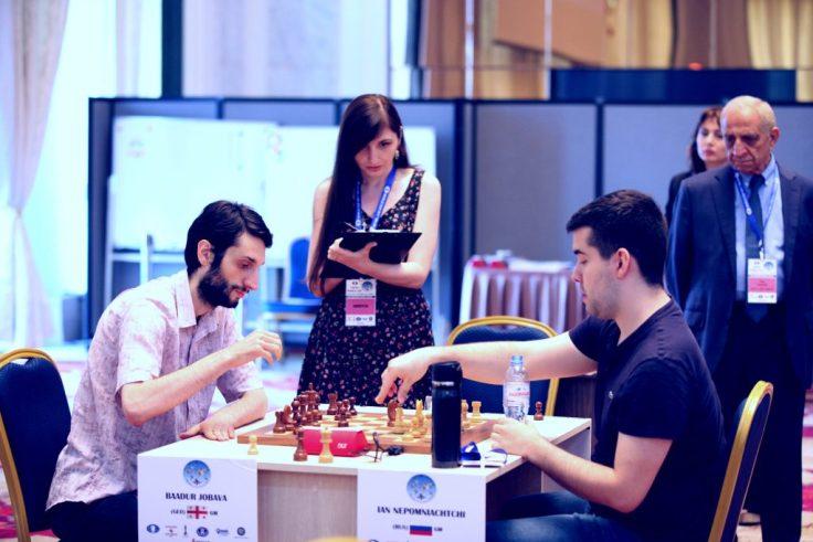 FIDE World CUP 2017 - R3 Jobava-Nepomniatchichi (Karlovich)