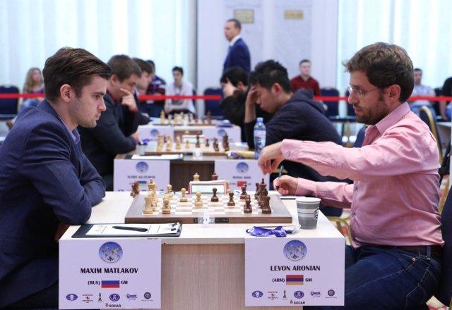 FIDE World CUP 2017 - R3 Matlakov-Aronian (RCF)