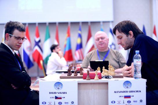 FIDE World CUP 2017 - R3 Navara-Grischuk (Karlovich)