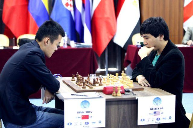 FIDE World CUP 2017 - R6 So-Ding Liren (Karlovich)
