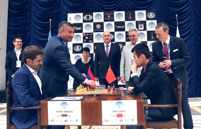 FIDE World CUP 2017 - R7 Let's start (Karlovich)