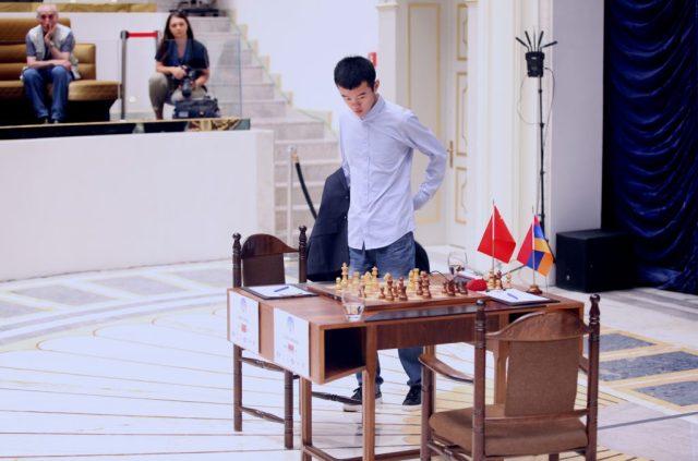 FIDE World CUP 2017 - R7 P4 Ding Liren (Karlovich)