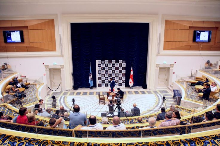 FIDE World CUP 2017 - R7 Room from top - no screen (Karlovich)