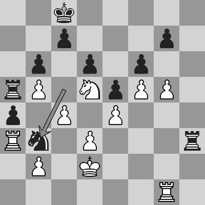 So-Ding Liren, R6 P1 dopo 40. ... Cb3+