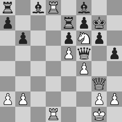 Grischuk-Vachier Lagrave dopo 20. ... b6