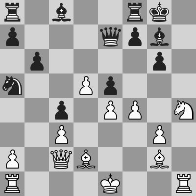 Aronian-Giri dopo 19. ... De7